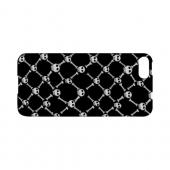 White Skull & Crossbones on Black - Geeks Designer Line (GDL) Monster Mash Series Hard Back Cover for Apple iPhone 5/5S