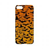 Witch Hat/Broom/Bat on Orange - Geeks Designer Line (GDL) Monster Mash Series Hard Back Cover for Apple iPhone 5/5S