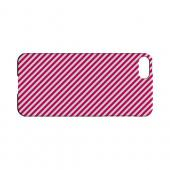 Thin Hot Pink Diagonal - Geeks Designer Line Stripe Series Hard Case for Apple iPhone 5