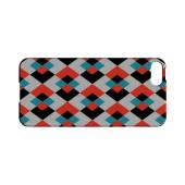 Double Diamond Vision - Geeks Designer Line Checker Series Hard Case for Apple iPhone 5