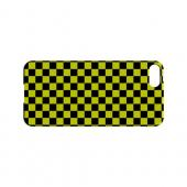 Yellow/ Black - Geeks Designer Line Checker Series Hard Case for Apple iPhone 5