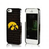 Iowa Hawkeyes Hard Case for iPhone 5/5S - NCAA Licensed