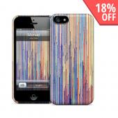 OEM GelaSkins Rainbow Lines Monad Hard Case for iPhone 5/5S