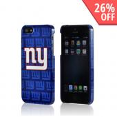 New York Giants Hard Case for Apple iPhone 5/5S - NFL Licensed