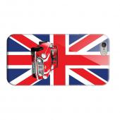 Geeks Designer Line (GDL) Apple iPhone 6 Matte Hard Back Cover - Solo Mini Cooper on Union Jack