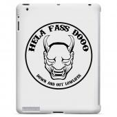 HFD Down & Out Hard Plastic Case for Apple iPad 2