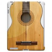 Acoustic Guitar - Geeks Designer Line Music Series Hard Case for Apple iPad (3rd & 4th Gen.)