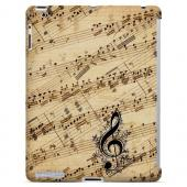 Allegro Grunge - Geeks Designer Line Music Series Hard Case for Apple iPad (3rd & 4th Gen.)
