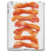Bacon Goes Good - Geeks Designer Line Humor Series Hard Case for Apple iPad (3rd & 4th Gen.)