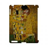 Gustav Klimt The Kiss Geeks Designer Line Artist Series Slim Hard Case for Apple iPad (3rd & 4th Gen.)