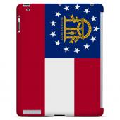 Georgia - Geeks Designer Line Flag Series Hard Back Case for Apple iPad 2nd Generation