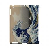 Katsushika Hokusai The Great Wave Off Kanagawa Geeks Designer Line Artist Series Slim Hard Case for Apple iPad (3rd & 4th Gen.)