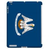 Louisiana - Geeks Designer Line Flag Series Hard Back Case for Apple iPad 2nd Generation