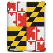 Maryland - Geeks Designer Line Flag Series Hard Back Case for Apple iPad 2nd Generation