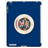 Minnesota - Geeks Designer Line Flag Series Hard Back Case for Apple iPad 2nd Generation