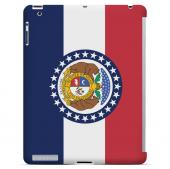 Missouri - Geeks Designer Line Flag Series Hard Back Case for Apple iPad 2nd Generation