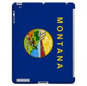 Montana - Geeks Designer Line Flag Series Hard Back Case for Apple iPad 2nd Generation