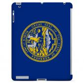 Nebraska - Geeks Designer Line Flag Series Hard Back Case for Apple iPad 2nd Generation