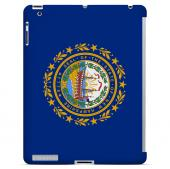 New Hampshire - Geeks Designer Line Flag Series Hard Back Case for Apple iPad 2nd Generation