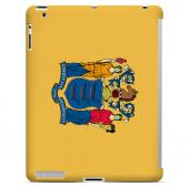New Jersey - Geeks Designer Line Flag Series Hard Back Case for Apple iPad 2nd Generation