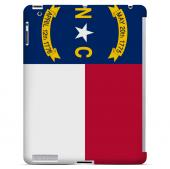 North Carolina - Geeks Designer Line Flag Series Hard Back Case for Apple iPad 2nd Generation