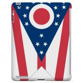 Ohio - Geeks Designer Line Flag Series Hard Back Case for Apple iPad 2nd Generation