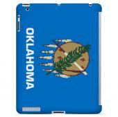 Oklahoma - Geeks Designer Line Flag Series Hard Back Case for Apple iPad 2nd Generation
