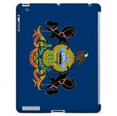 Pennsylvania - Geeks Designer Line Flag Series Hard Back Case for Apple iPad 2nd Generation