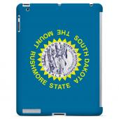 South Dakota - Geeks Designer Line Flag Series Hard Back Case for Apple iPad 2nd Generation