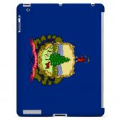 Vermont - Geeks Designer Line Flag Series Hard Back Case for Apple iPad 2nd Generation