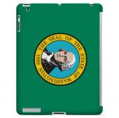 Washington - Geeks Designer Line Flag Series Hard Back Case for Apple iPad 2nd Generation