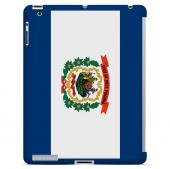 West Virginia - Geeks Designer Line Flag Series Hard Back Case for Apple iPad 2nd Generation