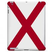 Alabama - Geeks Designer Line Flag Series Hard Back Case for Apple iPad 2nd Generation