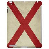 Grunge Alabama - Geeks Designer Line Flag Series Hard Case for Apple iPad Mini 2nd Generation