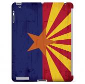 Grunge Arizona - Geeks Designer Line Flag Series Hard Case for Apple iPad Mini 2nd Generation