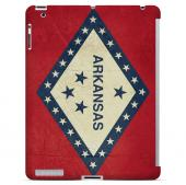 Grunge Arkansas - Geeks Designer Line Flag Series Hard Case for Apple iPad Mini 2nd Generation