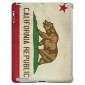 Grunge California - Geeks Designer Line Flag Series Hard Case for Apple iPad Mini 2nd Generation