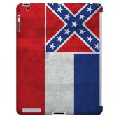 Grunge Mississippi - Geeks Designer Line Flag Series Hard Case for Apple iPad Mini 2nd Generation