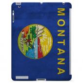 Grunge Montana - Geeks Designer Line Flag Series Hard Case for Apple iPad Mini 2nd Generation