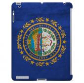 Grunge New Hampshire - Geeks Designer Line Flag Series Hard Case for Apple iPad Mini 2nd Generation