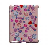 Assorted Candy Geeks Designer Line Candy Series Slim Hard Back Cover for Apple iPad (3rd & 4th Gen.)