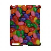 Assorted Jelly Beans Geeks Designer Line Candy Series Slim Hard Back Cover for Apple iPad (3rd & 4th Gen.)