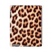 Leopard Close-Up Print Animal Series GDL Ultra Slim Hard Case for Apple iPad 2/3 Geeks Designer Line