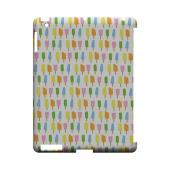 Assorted Popsicles Geeks Designer Line Candy Series Slim Hard Back Cover for Apple iPad (3rd & 4th Gen.)