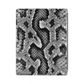 Gray Snake Skin Animal Series GDL Ultra Slim Hard Case for Apple iPad 2/3 Geeks Designer Line