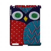 Dark Blue/ Red Owl Geek Nation Program Exclusive Jodie Rackley Series Hard Case for Apple iPad (3rd & 4th Gen.)