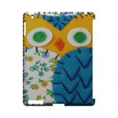 Gold/ Blue Owl Geek Nation Program Exclusive Jodie Rackley Series Hard Case for Apple iPad (3rd & 4th Gen.)