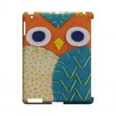 Orange/ Blue Owl Geek Nation Program Exclusive Jodie Rackley Series Hard Case for Apple iPad (3rd & 4th Gen.)