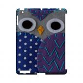 Gray/ Purple Owl Geek Nation Program Exclusive Jodie Rackley Series Hard Case for Apple iPad (3rd & 4th Gen.)