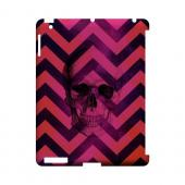 Pink Space Death Geeks Designer Line Zig Zag Series Slim Hard Case for Apple iPad (3rd & 4th Gen.)